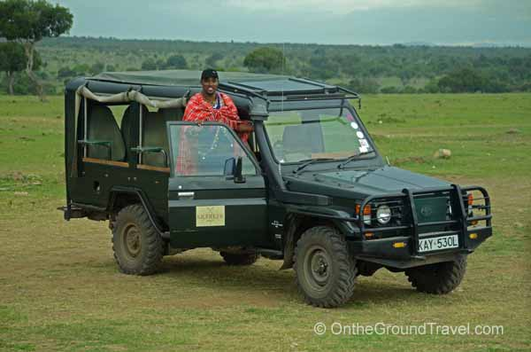 Jimmy the safari guide
