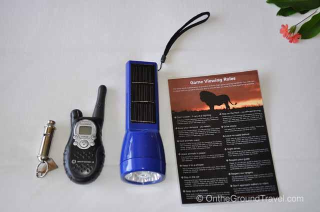 Kicheche Safety equipment