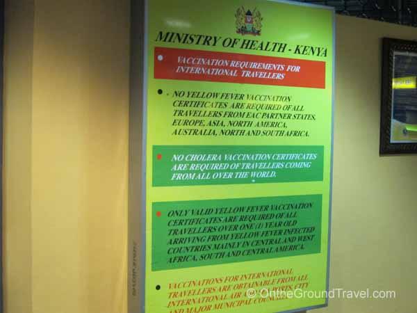 Kenya Ministry of Health regulations