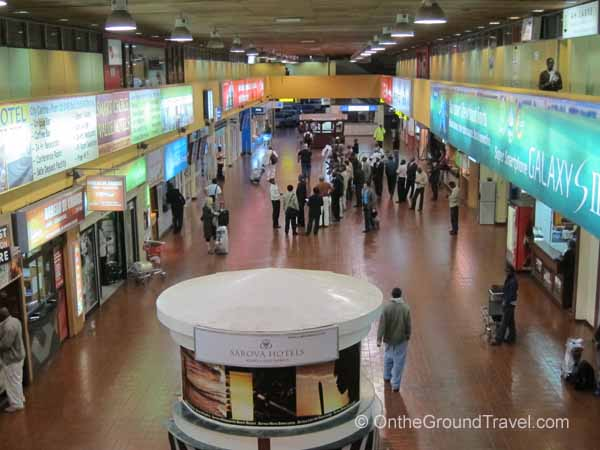 NBO arrivals hall