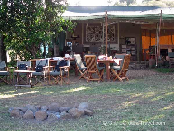 Kicheche common tent