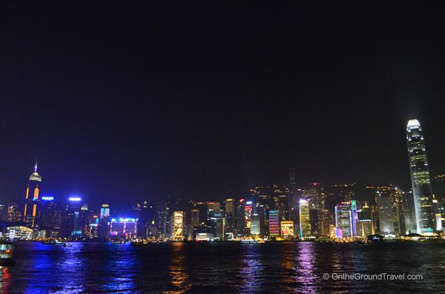 Hong Kong Christmas Skyline Travel