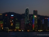 Hong Kong Christmas Skyline Travel