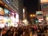 Hong Kong Christmas Revelers