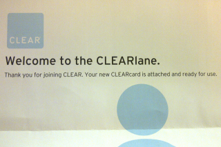 CLEAR Welcome Letter