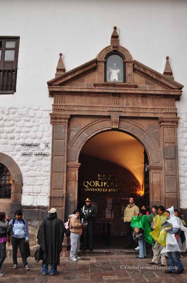 Qorikancha in Cusco Peru (Travel)