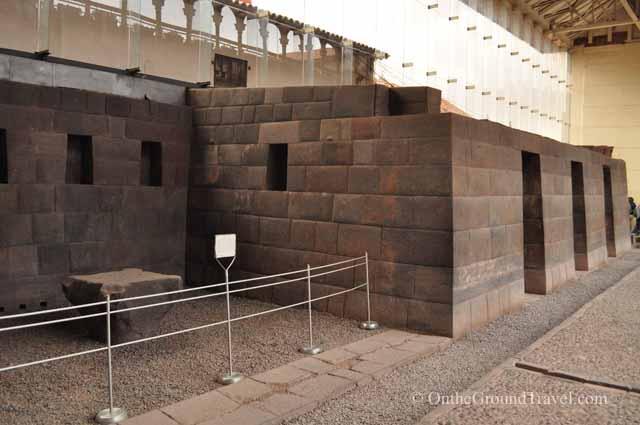 Remnants of the original Sun Temple