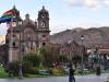 Plaza de Armas in Cusco Peru, the starting point of any Machu Picchu travel