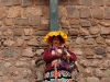 Inka Woman in Cusco Peru, the starting point of any Machu Picchu travel