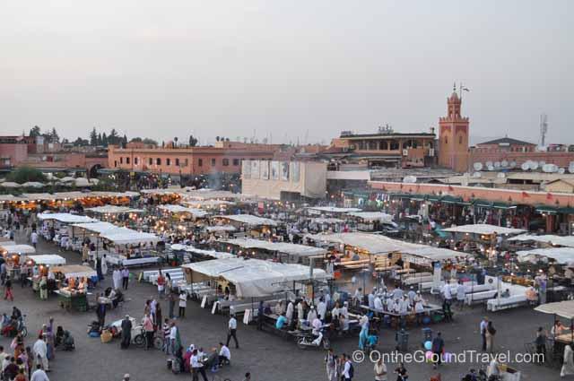 Djemaa el Fna Marrakech Morocco Travel