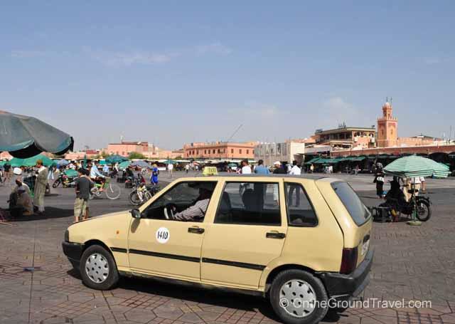 Cabs in Marrakech Marrakech Morocco Travel
