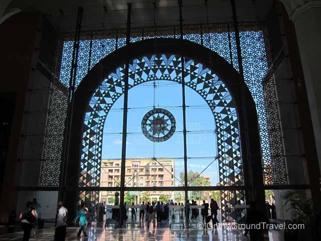 Marrakech Train Station Marrakech Morocco Travel