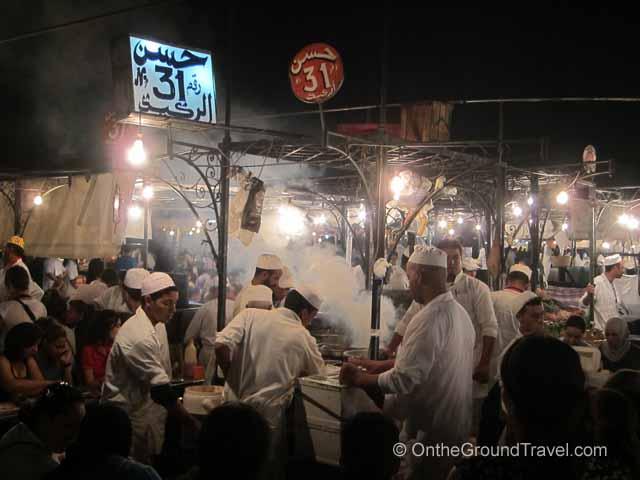 Moroccan Cuisine Marrakech Morocco Travel