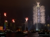 Hong Kong New Year Fireworks - Victoria Harbor