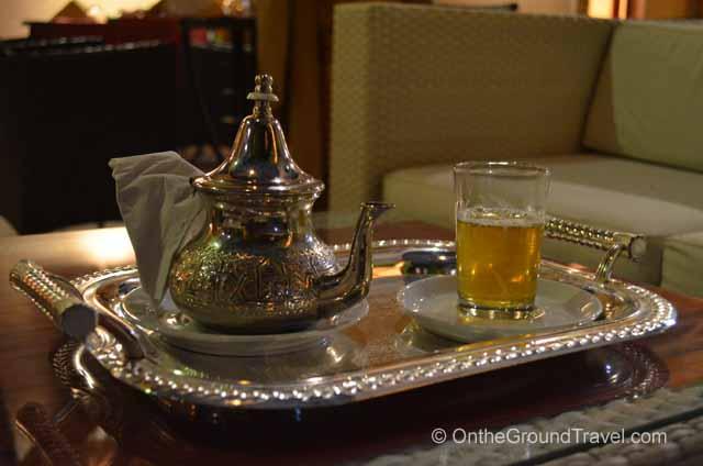 Moroccan Mint Tea Marrakech Morocco Travel