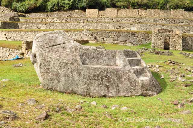 Funerary Rock Peru Travel