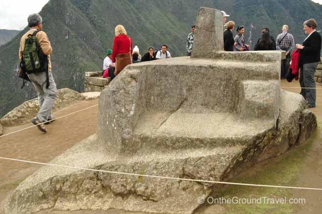 Intihuatana Stone Peru Travel