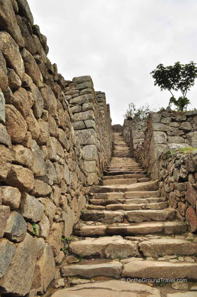 Sun Temple Staircases Peru Travel