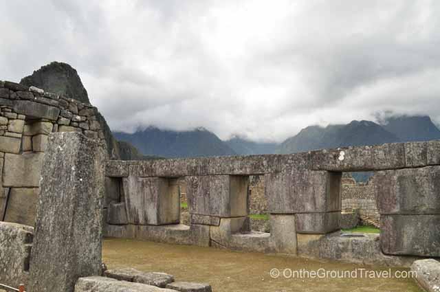 Temple of the Three Windows Peru Travel