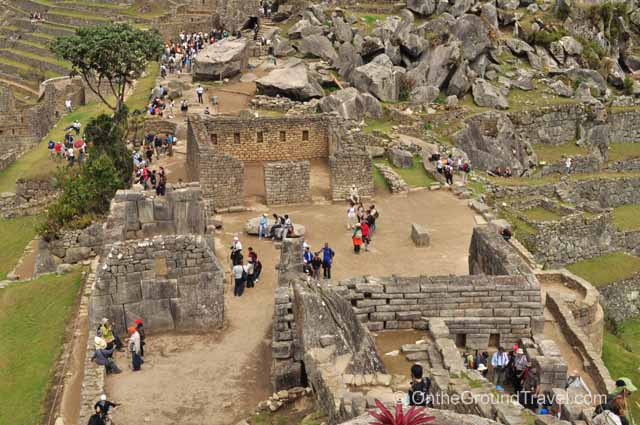 View of the Temple of Three Windows & Others Peru Travel