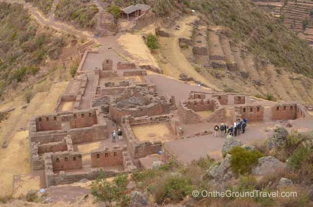 View of the Sun Temple Peru Travel