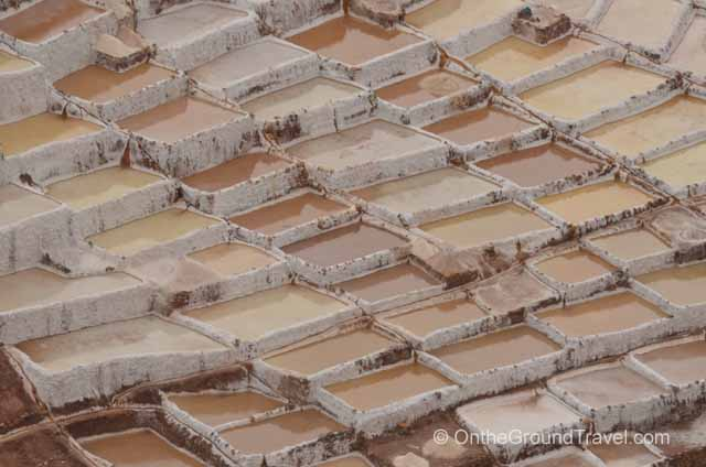 Salt Pans in Salinas Peru Travel