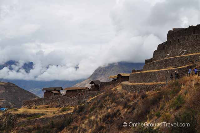 Entrance to the Pisac Ruins Peru Travel