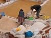 Locals working in the Salt Pans Peru Travel