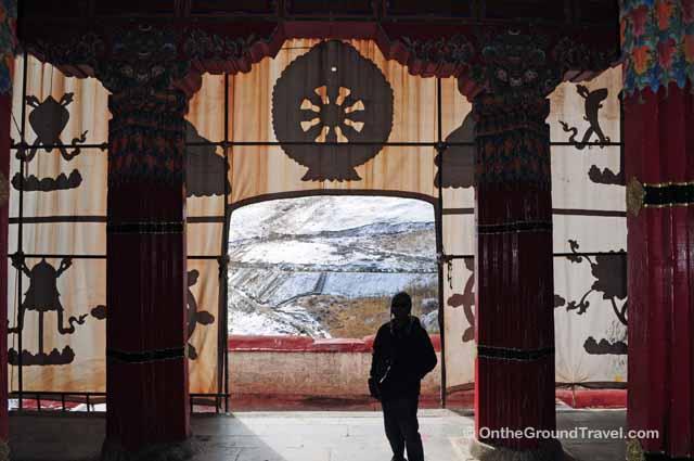 Trip to Tibet - Ganden Monastery