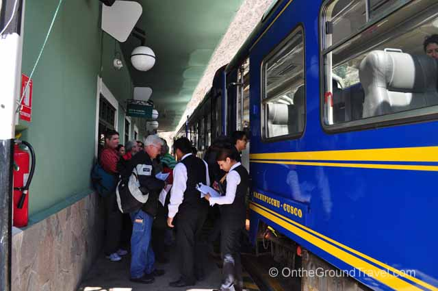 Getting to Machu Picchu via PeruRail from trips around the world