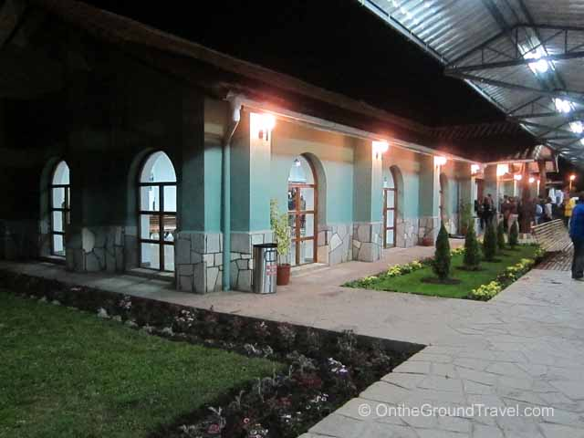 Poroy Train Station Peru Travel
